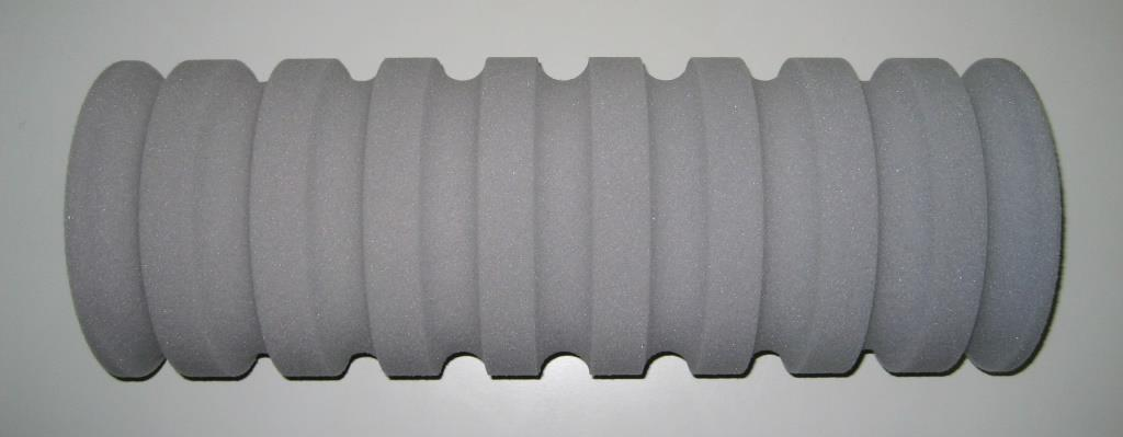Example grooved roller