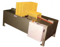Wedge cutting machine
