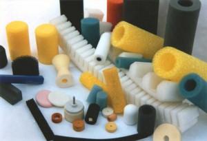Special foam parts